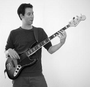Musikunterricht, Bass, Klavier